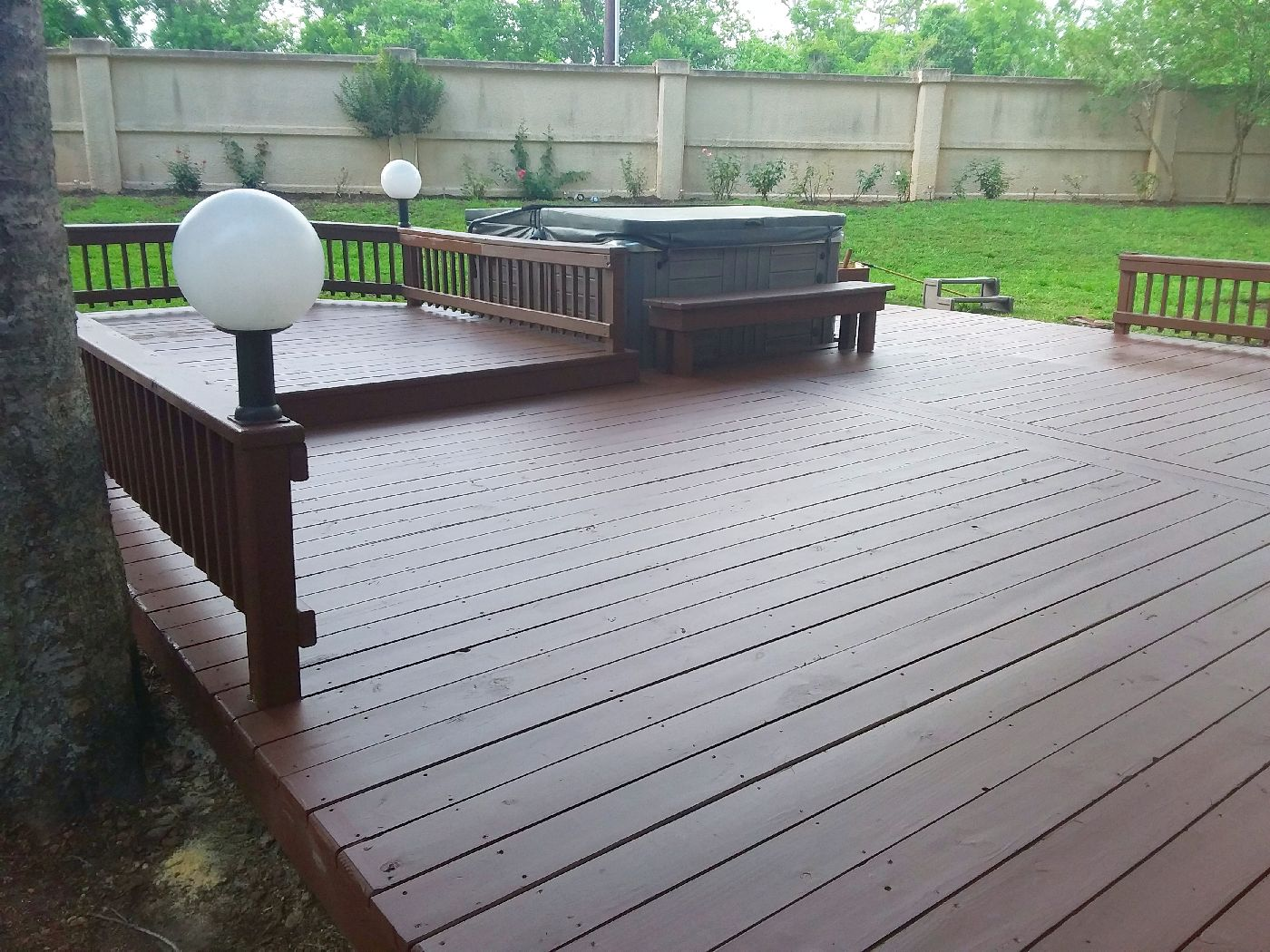 custom decks and porches houston