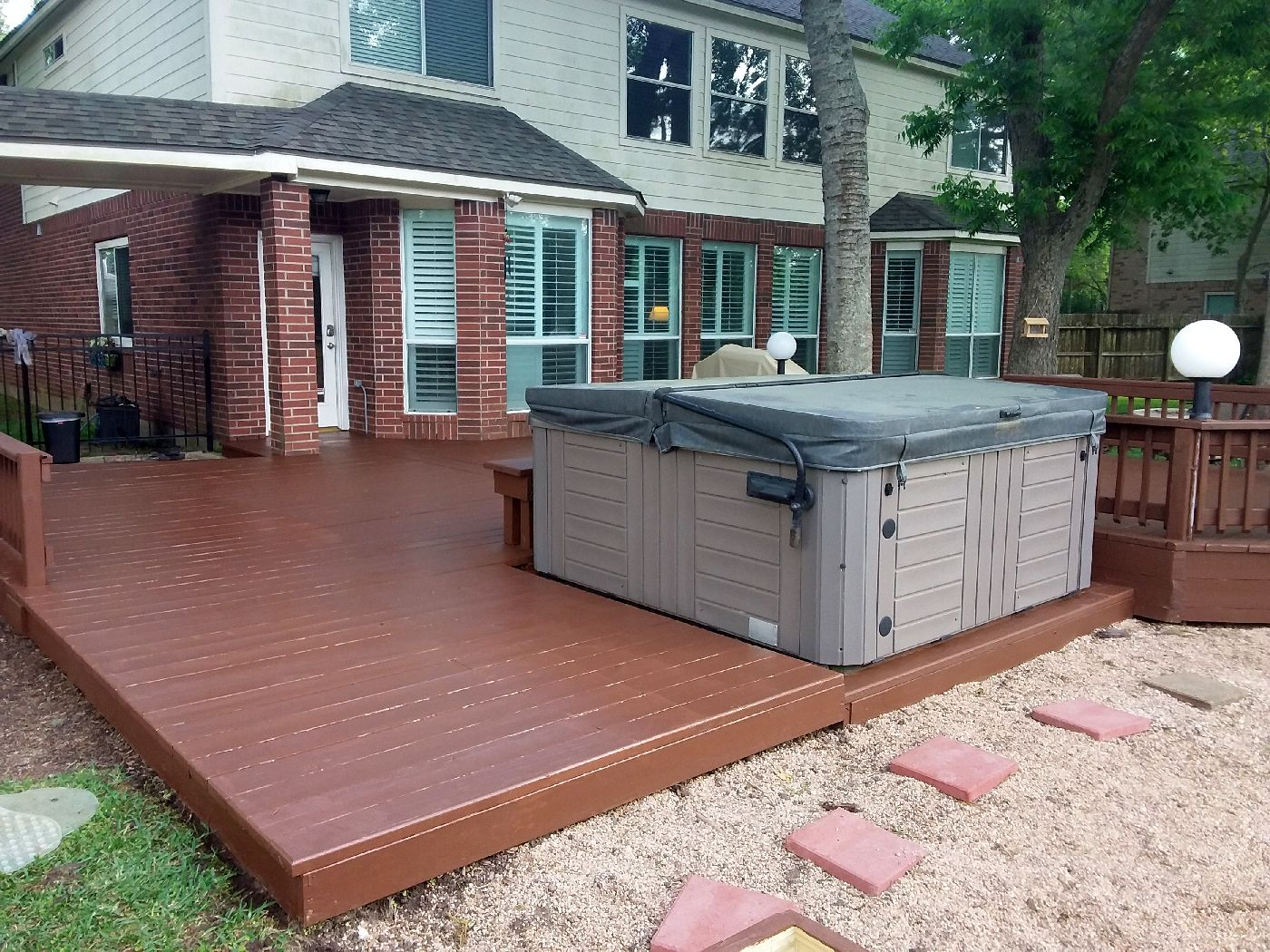 deck contractor houston