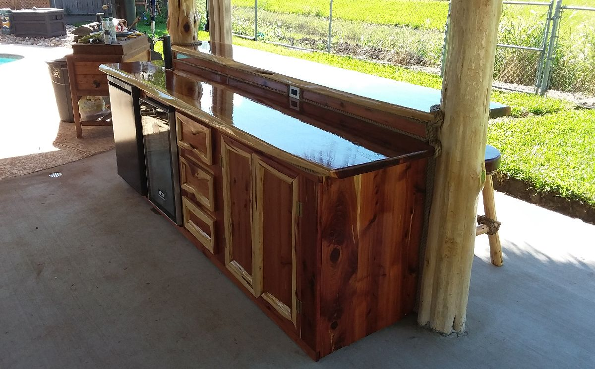 outdoor bar contractor houston