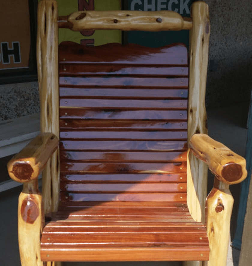 red_cedar_rocking_chair