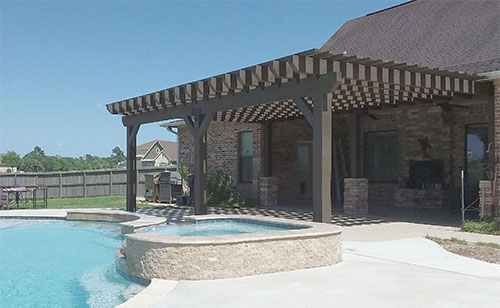 Pergolas Gallery Affordable Palapa Builder Houston