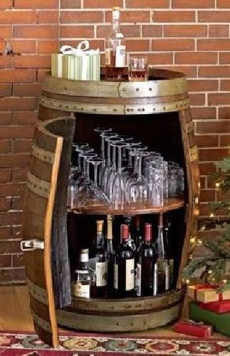 custom outdoor mini bar-liquor-cabinet