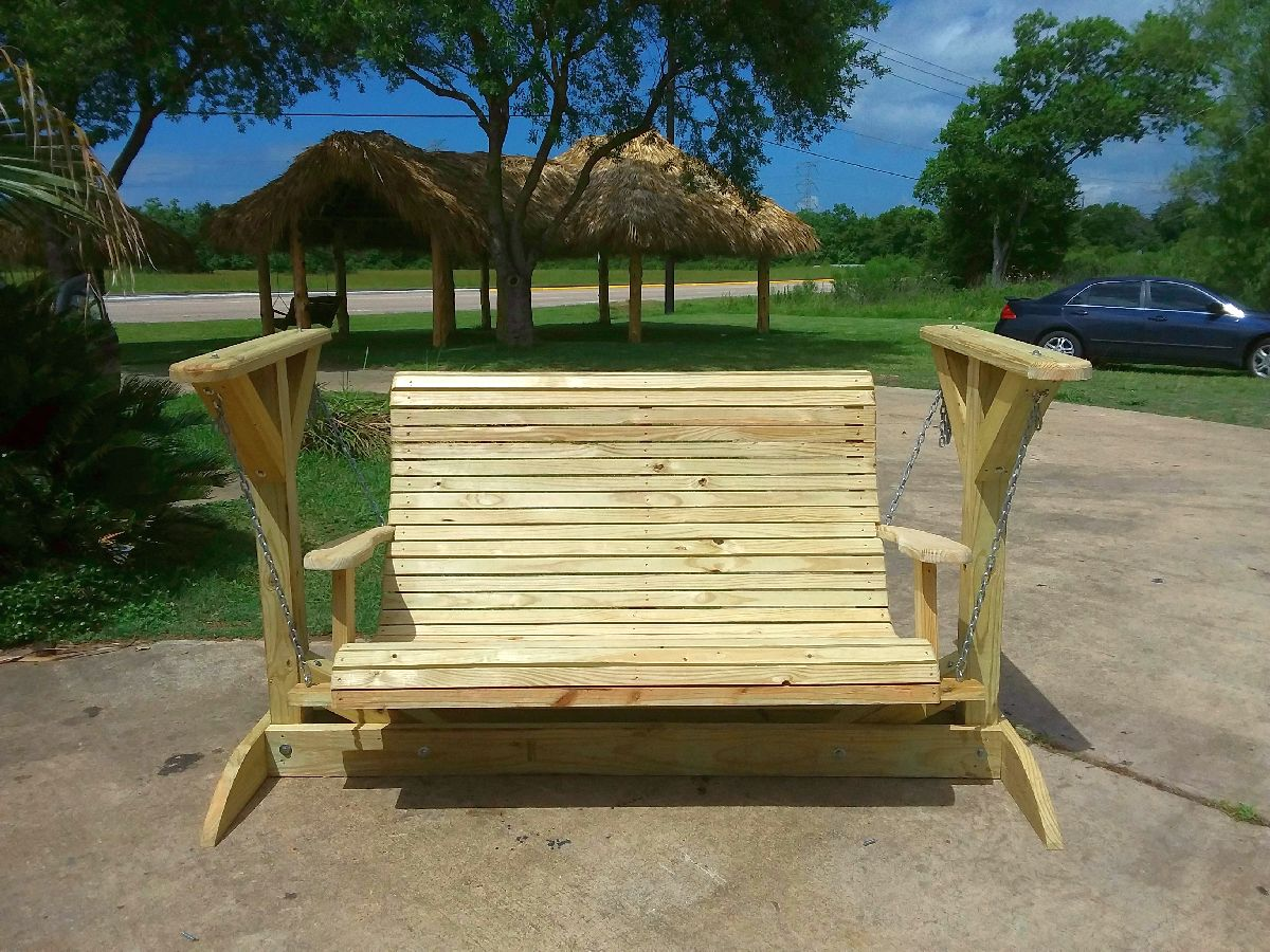 custom outdoor swings housto texas
