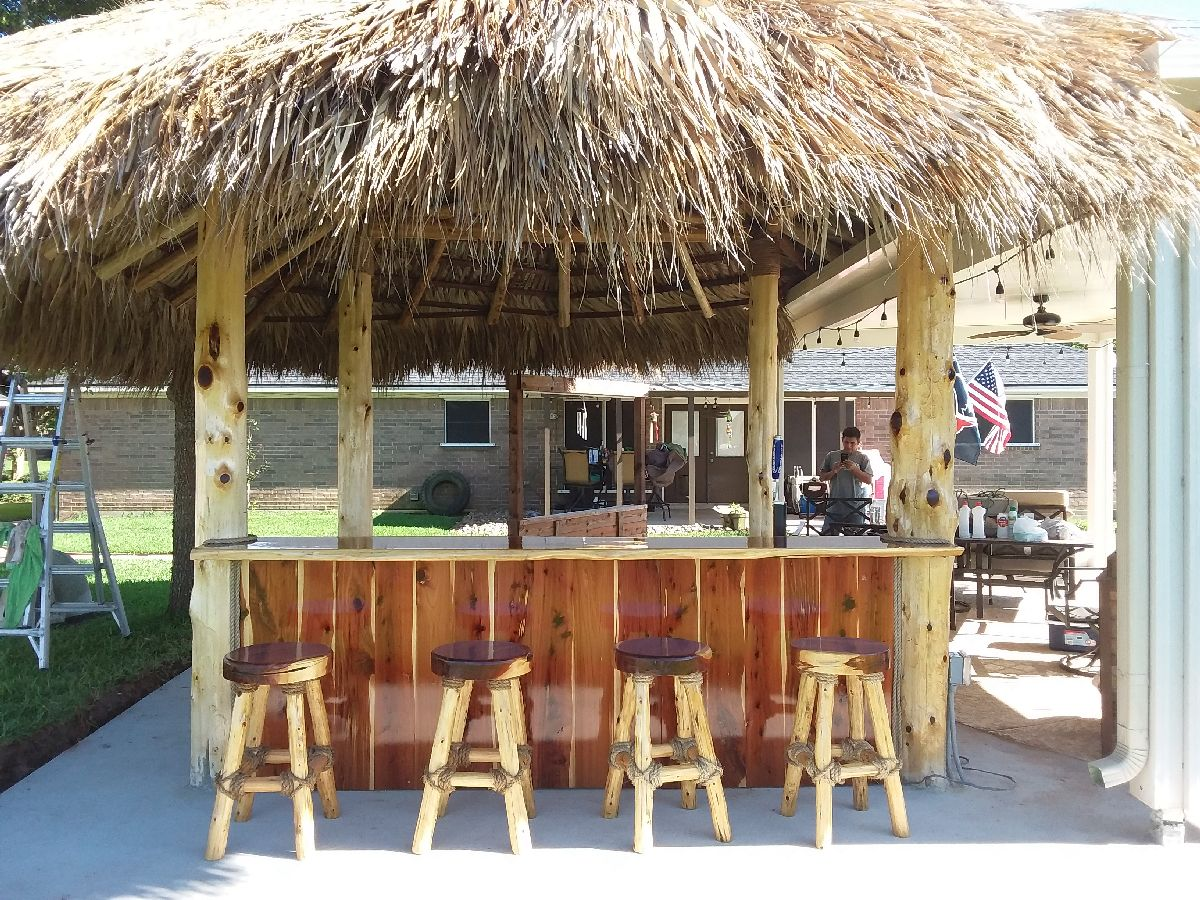 custom patio bars and kitchens houston