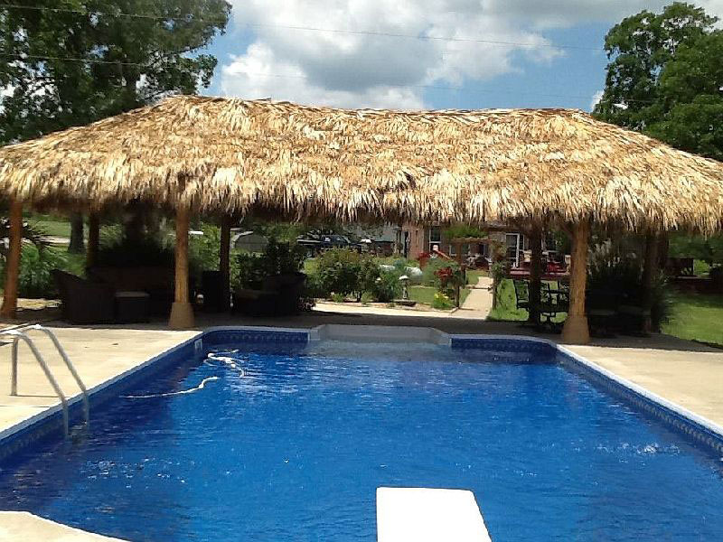 pool palapa installer houston