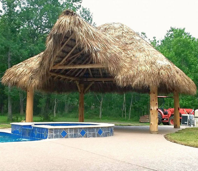 custom palapa for ranch property