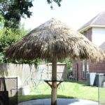 where does palapa tiki hut palm leaves come from