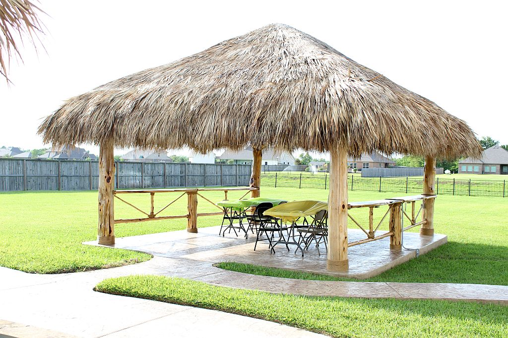outdoor custom palapa builder austin tx