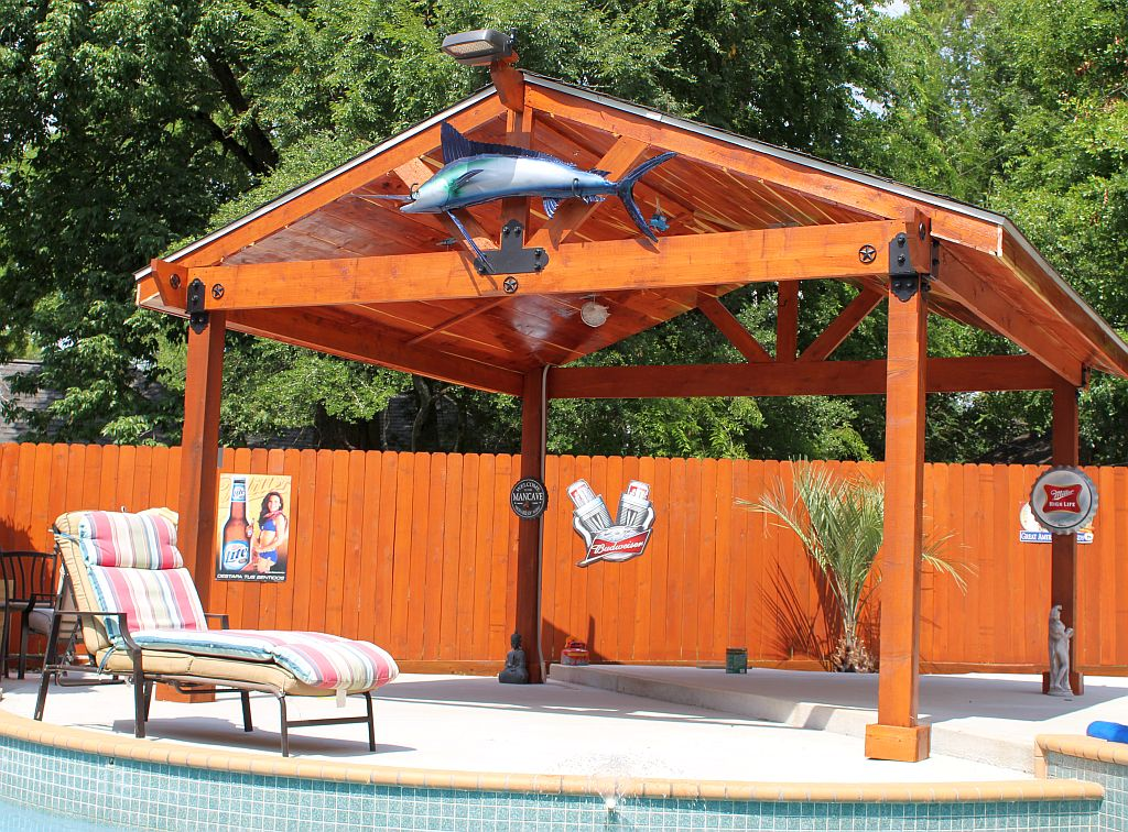 pavilions gazeeboos outdoor shade houston